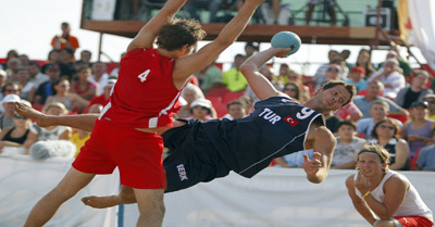 Beach Handball World Championships 2010 Matchday 3