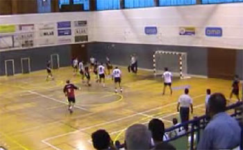 balonmano video ruesga