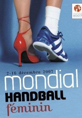 cartel publicidad balonmano femenino