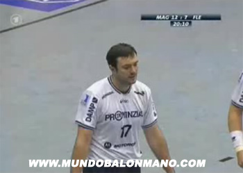video balonmano