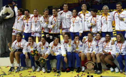 chicas balonmano españa europeo Macedonia